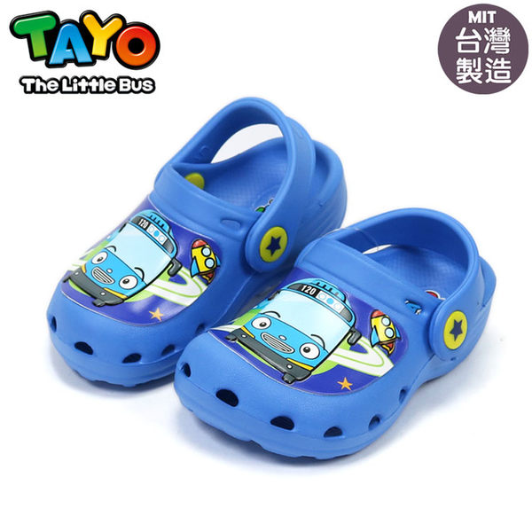 泰路TAYO小巴士 軟Q園丁鞋.懶人布希鞋.兒童涼拖鞋.童鞋~EMMA商城