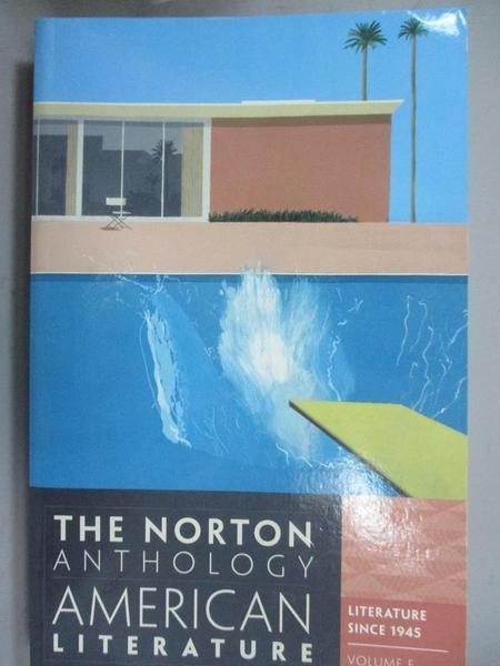 【書寶二手書T6/原文書_YKC】The Norton Anthology of American Literature_Nina Baym