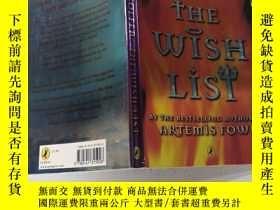 二手書博民逛書店the罕見wish list 願望清單Y200392