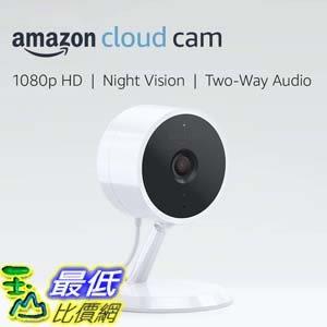 [7美國直購] 攝像機 Amazon Cloud Cam Security Camera, Works with Alexa