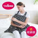 台灣製六甲村隨哺樂行動哺乳巾/六種用法-...