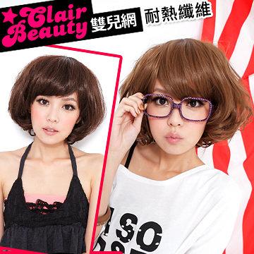 耐熱纖維-韓劇生計型富家女BOBO短髮【MB003】與韓國同步流行☆雙兒網☆
