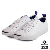 CONVERSE 新竹皇家 Jack Purcell 白藍 皮質  休閒鞋 男款 NO.A8923