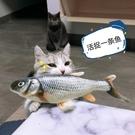 貓咪玩具自嗨電動逗貓棒貓貓啃咬解悶神器幼貓磨牙用品魚仿真會動 夢幻小鎮