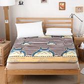 加厚床墊床褥子單人雙人1.5m1.8m榻榻米學生宿舍可折疊床墊被床褥  多莉絲旗艦店YYS