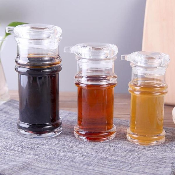 家用油壺醋壺防漏油瓶醬油瓶醋瓶油罐調料調味壺廚房用品塑料瓶子JRM-1292