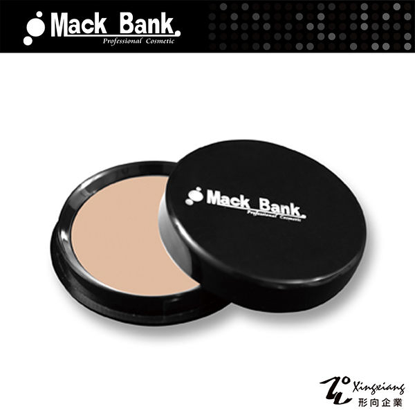 【Mack Bank】M02-02# 淺膚色 水透 粉底膏 單色 大包裝(15g)(形向Xingxiang臉部 彩妝 底妝 打底)