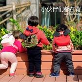 日本Angel兒童防走失背包帶牽引繩寶寶防丟失背包1-3歲書包Dept【全館免運】