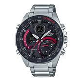 CASIO手錶專賣店 EDIFICE ECB-900DB-1A 賽車雙顯型男錶 太陽能 智能手機連接 防水100米 ECB-900DB