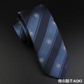 【心髒地震】久津中 原創jk手打領帶女 dk男領帶學生領帶深藍色「青木鋪子」