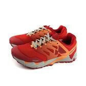 MERRELL AGILITY PEAK FLEX 2 E-MESH 慢跑鞋 運動鞋 健行 橘紅色 女鞋 ML12556 no899