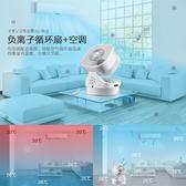 循環扇 空氣循環扇家用扇靜音台式風扇換氣台扇渦輪對流遙控電風扇 igo 玩趣3C