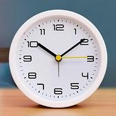 鬧鐘 小鬧鐘學生用床頭兒童靜音電子創意個性懶人時鐘表鬧鈴大音量 風馳