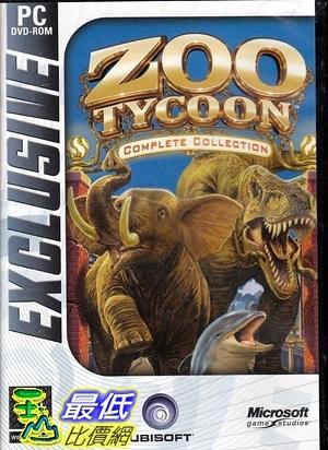 [7美國直購] 2018 amazon 亞馬遜暢銷軟體 Zoo Tycoon Complete Collection PC