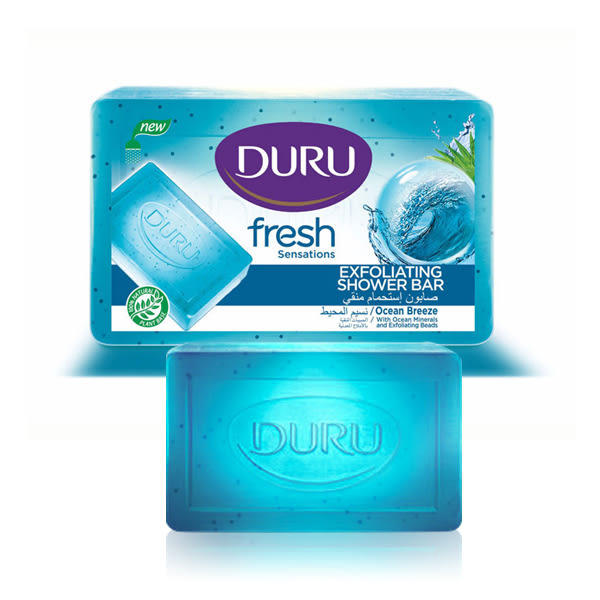 土耳其 Duru 海洋微風清爽去角質皂 160g 【小紅帽美妝】