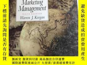 二手書博民逛書店Global罕見Marketing Management 6th