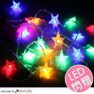 透明LED星星燈串 帳篷燈 裝飾燈