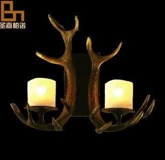 設計師美術精品館歐式鄉村鹿角吊燈創意宜家田園壁燈客廳燈臥室餐廳燈服飾燈飾燈具