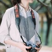TARION民族風單反微單相機肩帶復古文藝拍立得肩帶通用可調節背帶 鹿角巷