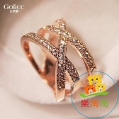 女士戒指食指歐美韓版韓國時尚個性指環夸張簡約【樂淘淘】