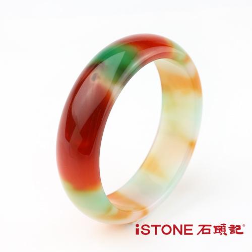彩虹玉髓手鐲富貴迎人 石頭記