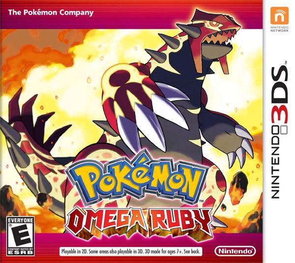 3DS Pokémon Omega Ruby 神奇寶貝 終極紅寶石 (美版代購)