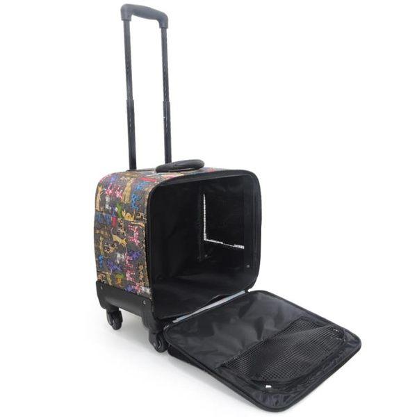 寵物背包 手提寵物拉桿箱犬貓外出便攜包狗狗拉桿箱包泰迪貴賓旅行箱包
