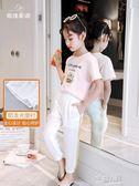 新款女童裝中大童寬鬆洋氣夏裝女大童兒童夏季薄款休閒長褲子  9號潮人館