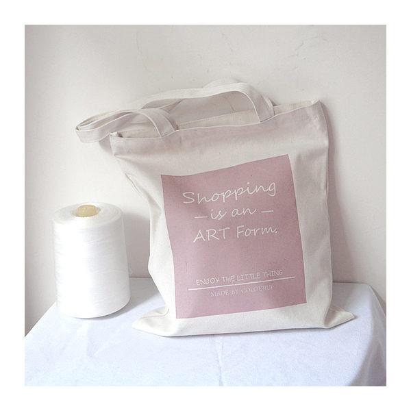 帆布袋 手提包 帆布包 手提袋 環保購物袋--單肩/拉鏈【DE85774】 ENTER  08/24