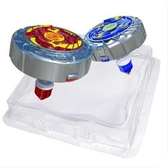 陀螺 【現貨】魔幻陀螺2代兒童拉線發光深海冰龍神戰鬥盤男孩玩具4