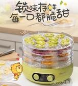 乾燥機 小熊干果機家用小型食物烘干機全自動自制多功能食品脫水機YXS 【快速出貨】