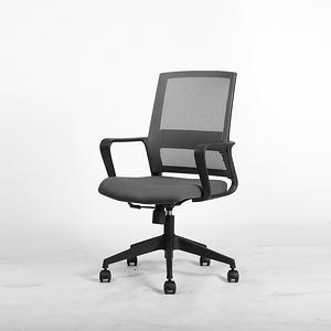 伊登 Gull海鷗 低背設計工作轉椅 黑色