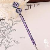 髮簪/裝飾 - 古代彩繪水鉆釵子發簪【韓衣舍】