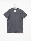 【Abercrombie & Fitch】男款V領短袖純棉T恤 - 深灰/M