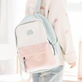 ins超火包植物系書包女雙肩包簡約2019新款小清新帆布森系背包-ifashion