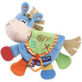 《 澳洲 Playgro 培高 》活力小馬固齒書╭★ JOYBUS玩具百貨