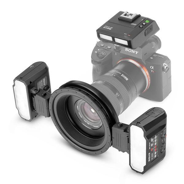 Meike 美科 MK-MT24 For canon 微距攝影閃光燈 雙燈 環型閃光燈 MK-MT24c