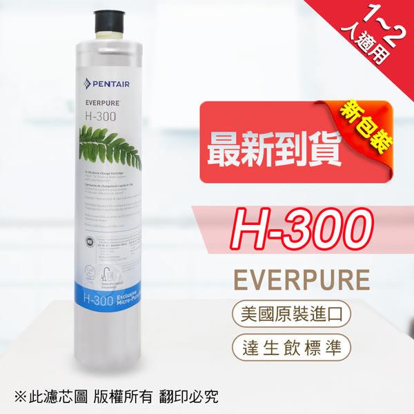 水蘋果居家淨水~快速到貨~免運費~Everpure 美國原廠平行輸入 H300 濾心