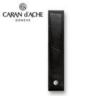 CARAN d'ACHE 瑞士卡達 LEMAN 利曼系列 小牛皮筆套. 黑(1) / 個