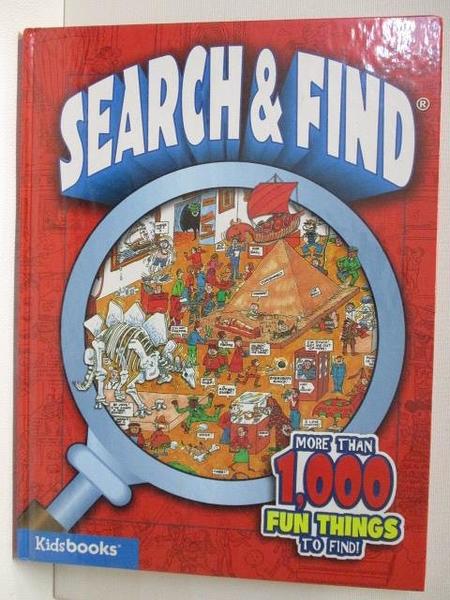 【書寶二手書T1/少年童書_JQC】SEARCH&FIND_More Than 1000 Fun Things to Find