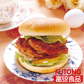 【富統食品】丸狀漢堡排20粒