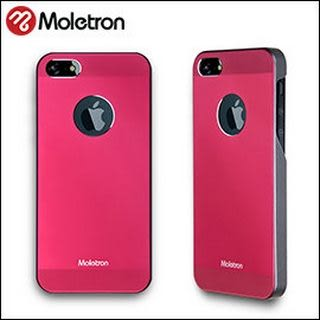 Moletron ★ NUANCE for iPhone 5/5S 手機殼 超薄時尚保護背蓋系列-紅色