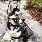 狗狗嘴套狗口罩防咬防叫哈士奇小中大型犬防亂吃寵物狗罩狗套嘴罩  遇見生活
