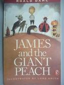 【書寶二手書T4/原文小說_NRH】James and the Giant Peach_Dahl, Roald