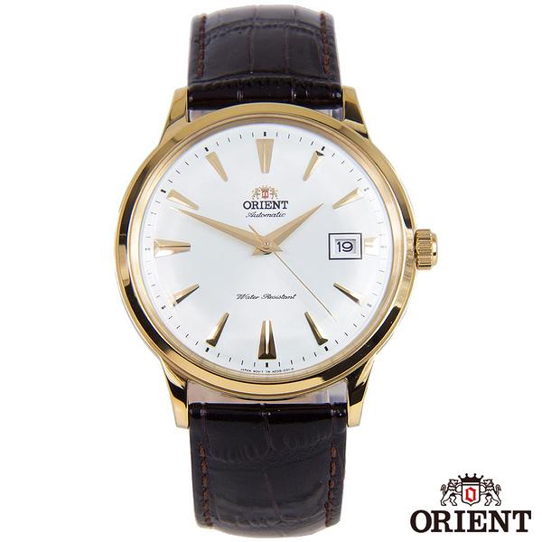 ORIENT東方錶  成熟內斂自動上鍊機械腕錶-白x40.5mm  FAC00003W0