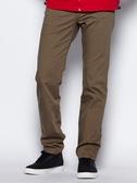 BOBSON 男款高腰膠原蛋白直筒褲(卡其1804-72)