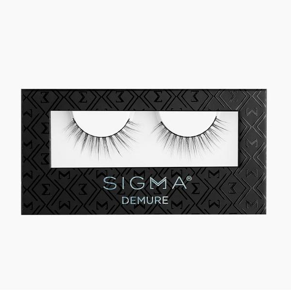 Sigma DEMURE FALSE LASHES 假睫毛【愛來客】美國Sigma官方授權經銷商