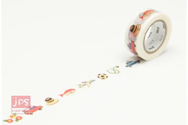 日本MT和紙膠帶-KID道具(MT01KID017)