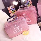 化妝包小號便攜韓國簡約可愛少女心大號大容量收納盒品化妝箱手提
