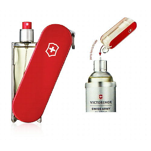 Swiss Army 瑞士刀經典限定版淡香水 100ml 搭贈攜帶式填充瓶